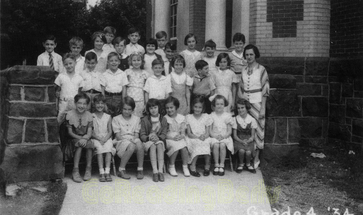4th Grade, 1934