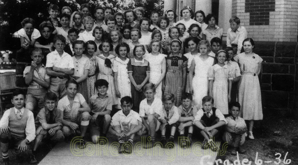 6th Grade, 1936