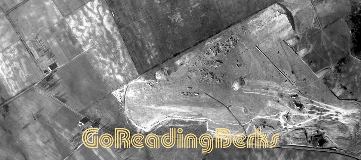 Construction photo of Reading Municipal Airport, 1937