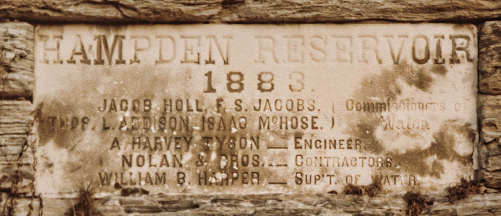 Hampden Reservoir Valve Control Room Entrance
