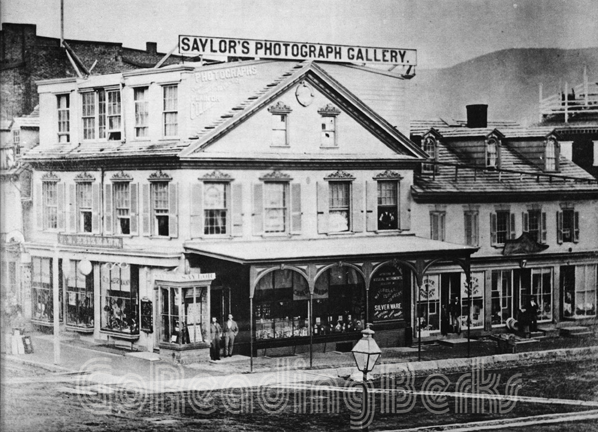 Southeast corner of Sixth and Penn in the 1890s