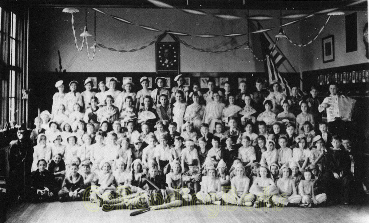 "West Lawn 5th Grade Play ""Jack in the Beanstalk"" - 1934"