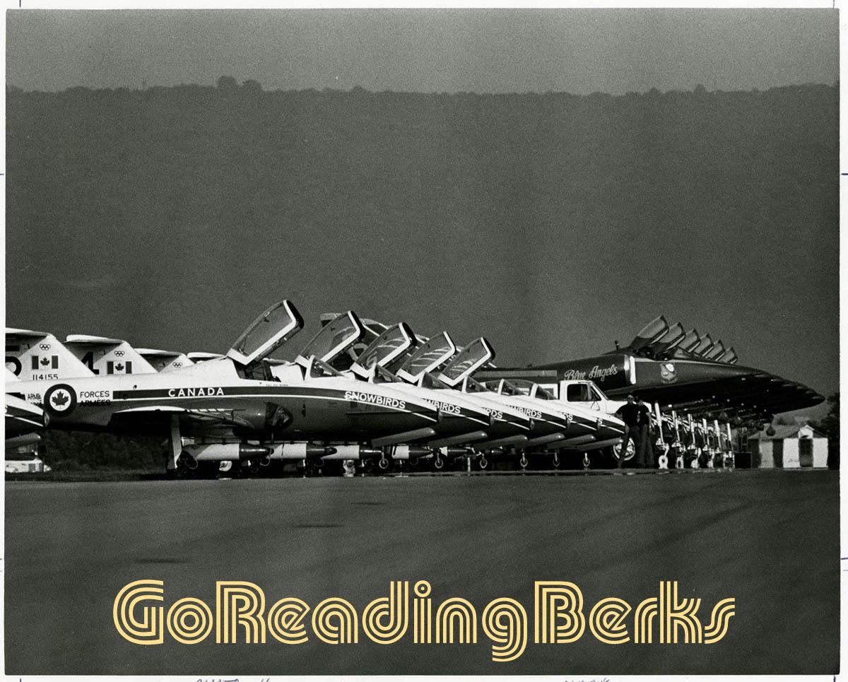 Reading Air Show 1976