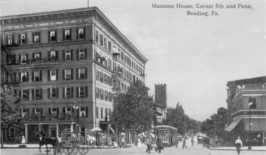 Mansion House, 5th and Penn Streets