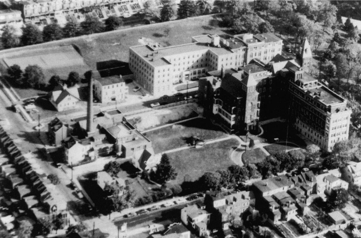 St. Joseph Hospital, 1950s