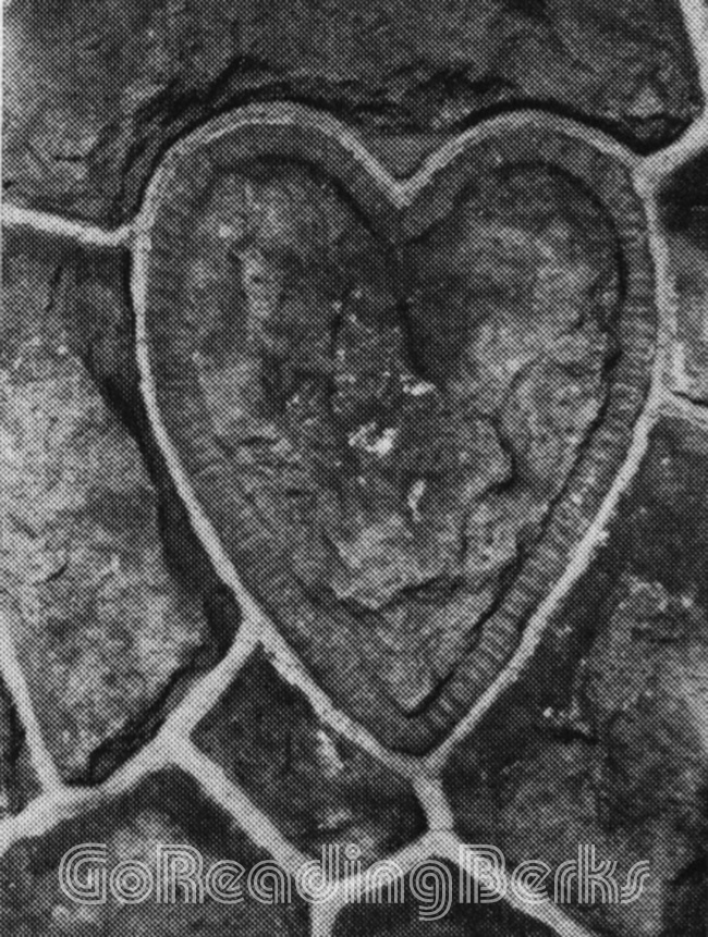 Stone Heart in Wall
