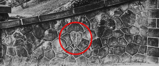 Stone Heart in Wall