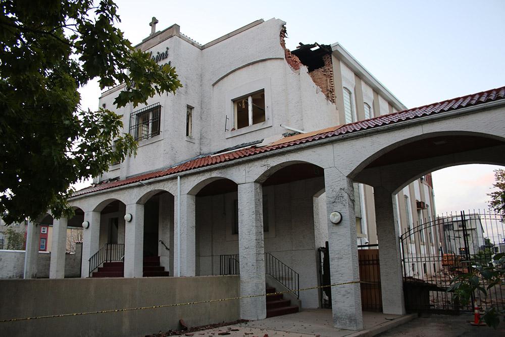 Cabrini Academy Demolition, October 2016
