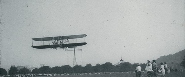 Wright Biplane at Carsonia Park