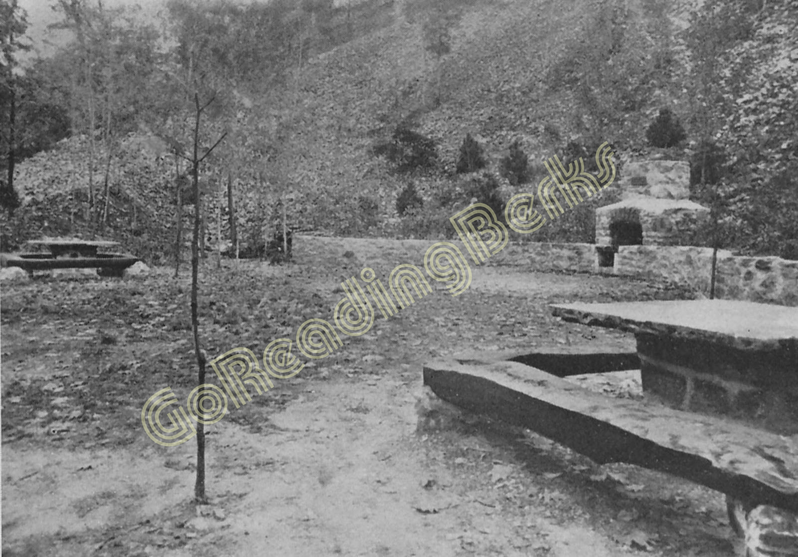 Old Campfire Girls Circle near Pagoda