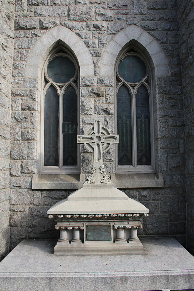 Father James Cleary Grave