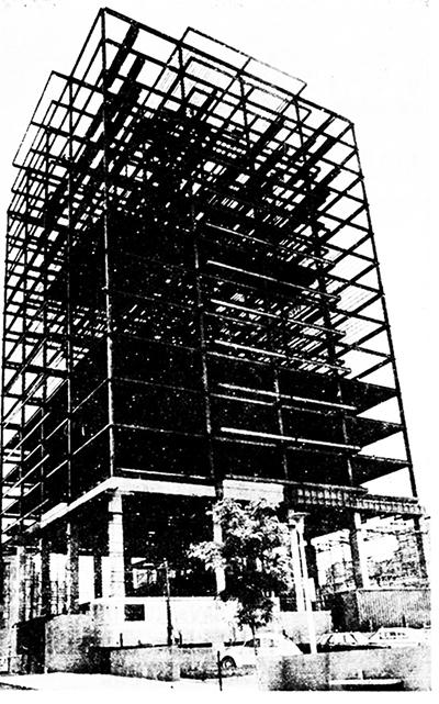Washington Towers Construction Photo