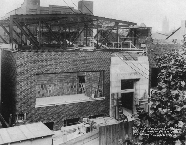 Construction of New School (1950)
