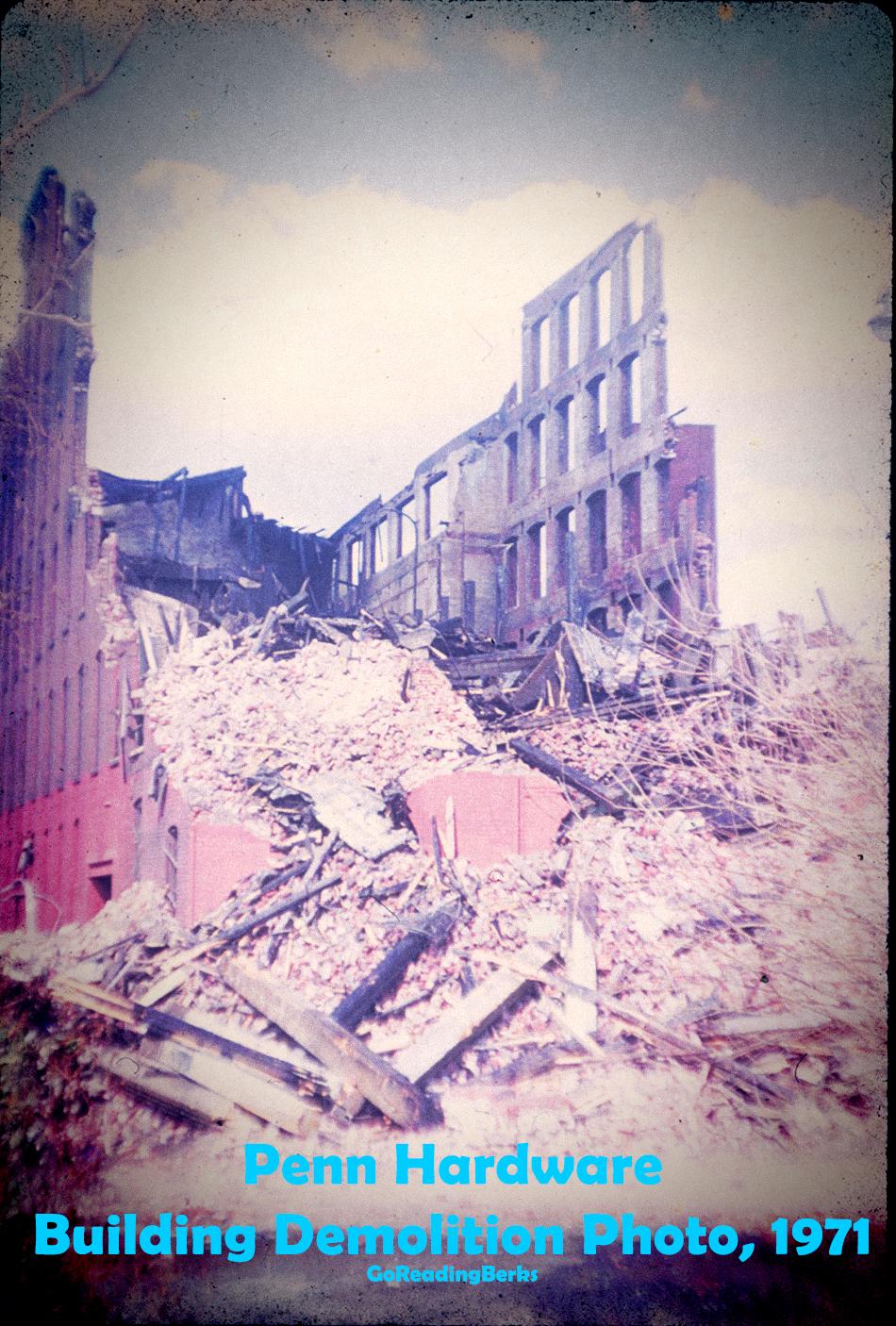 Penn Hardware Demolition