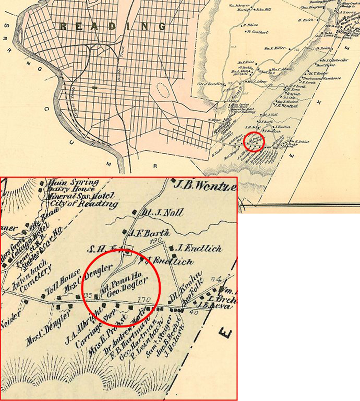 Map of 1876
