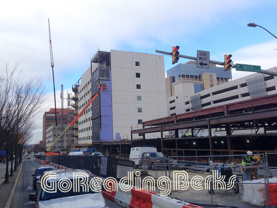 Construction of Doubletree Hotel, Reading, PA