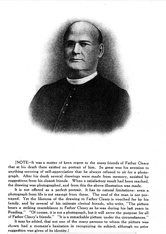 Father James Cleary