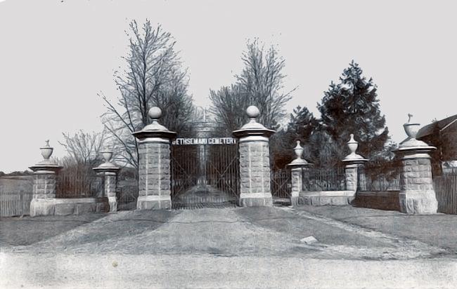 Gethsemane Cemetery - 1915
