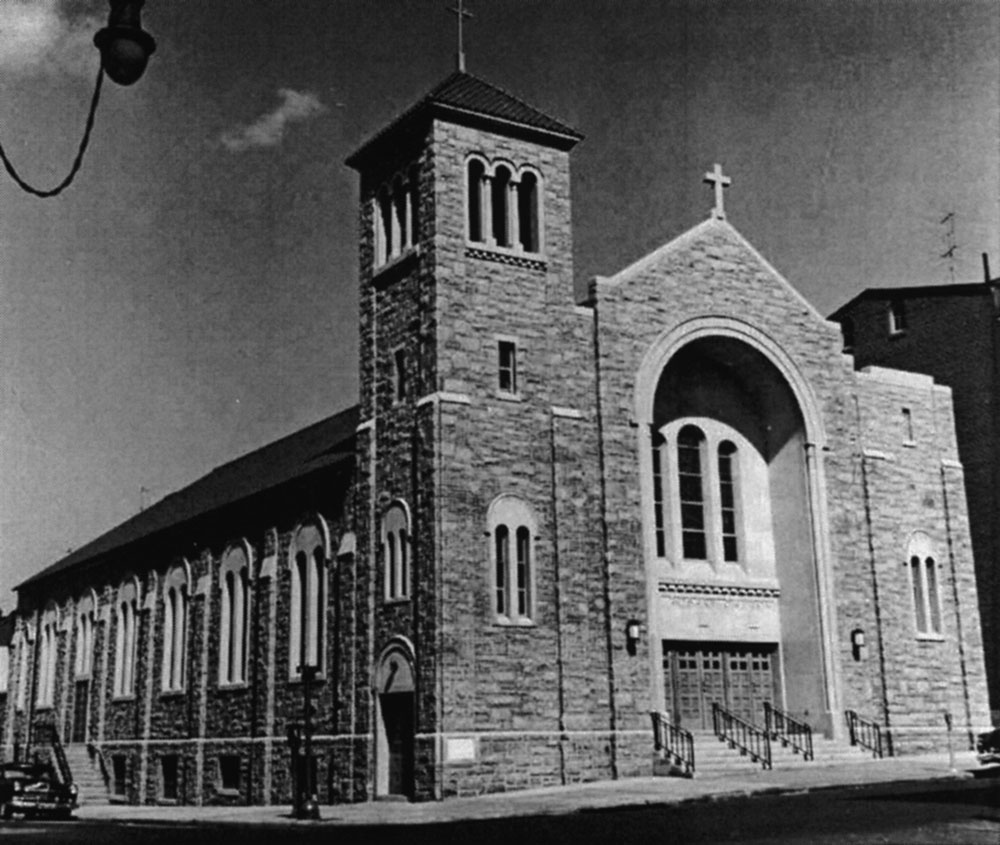 New Church of Holy Rosary, 1953