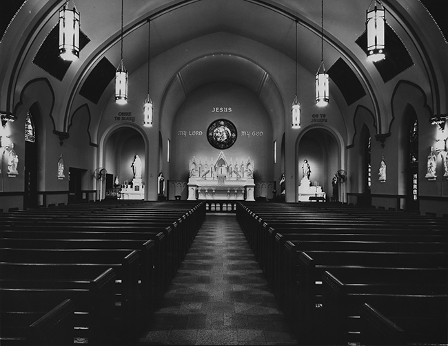 St. Joseph's Church, about mid-1950's