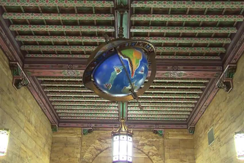 Main Lobby Globe