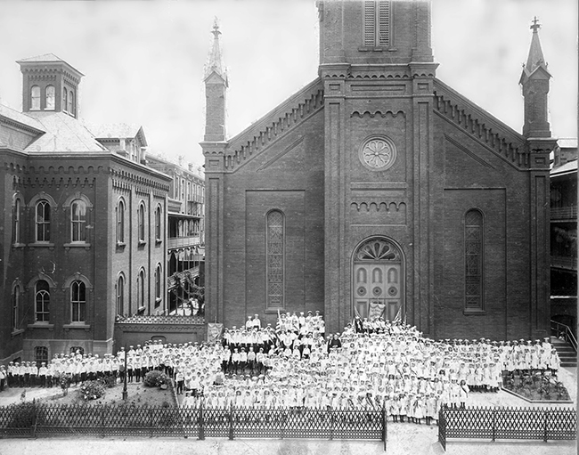 St. Paul's Church - May Day 1878