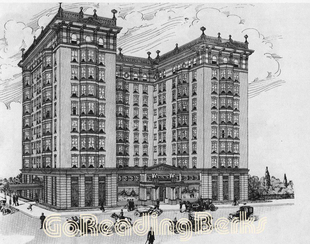 original proposal of the Berkshire Hotel