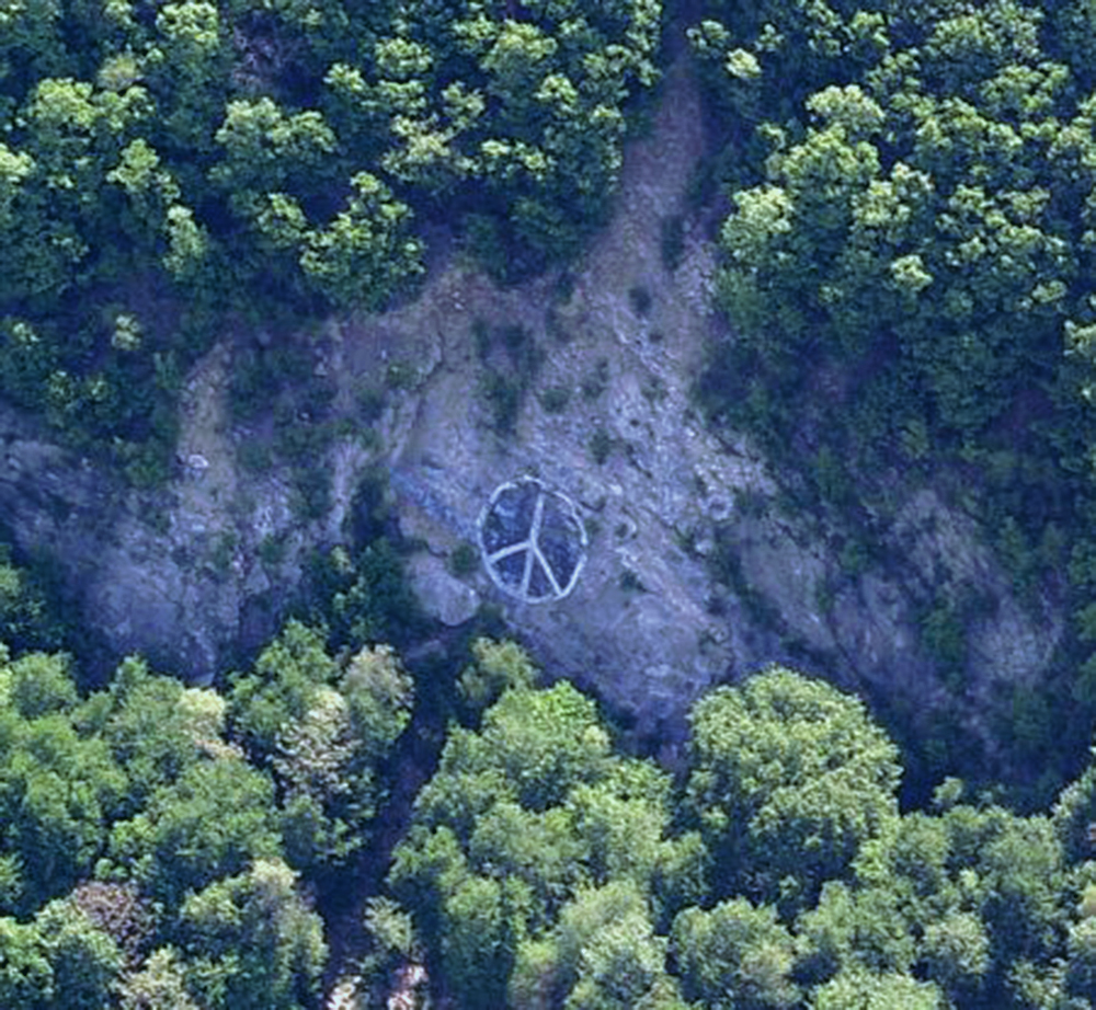 Mount Penn Peace Sign