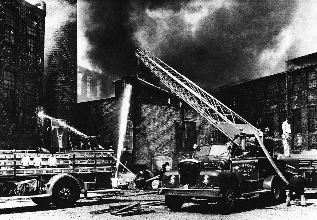 1961 Penn Hardware Fire