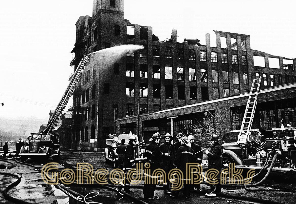 1971 Penn Hardware Fire