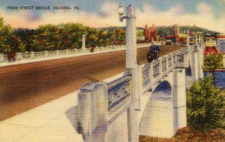 Penn Street Bridge looking east