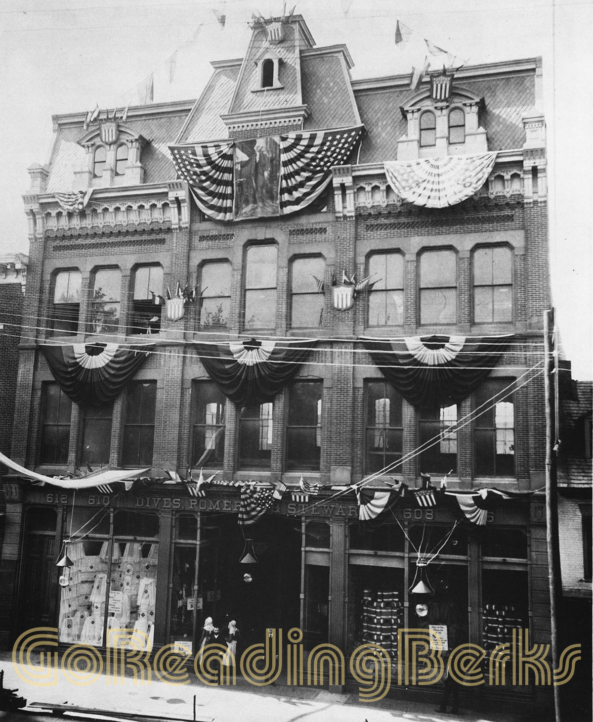 Pomeroy's Department Store, Reading, PA, 1883-1884