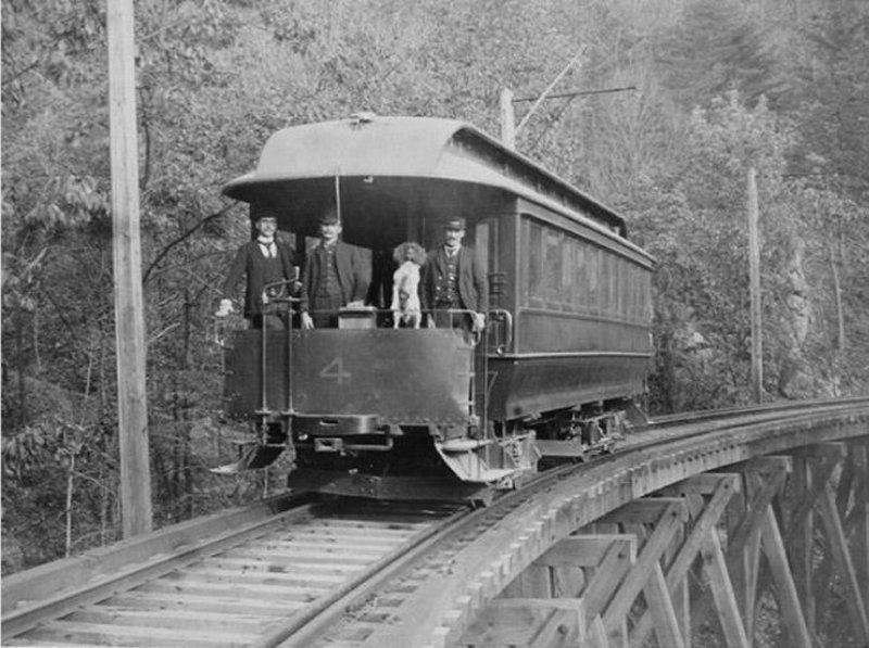 Neversink Mountain Railroad Trolley
