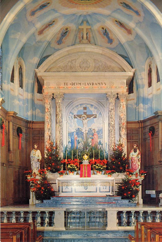 St. Paul's Church Sanctuary - 1956