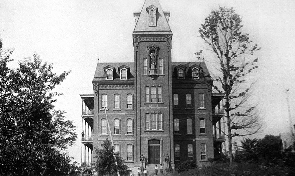 St. Joseph's Hospital, mid 1880s