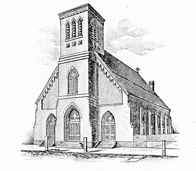 Sketch of Original Church