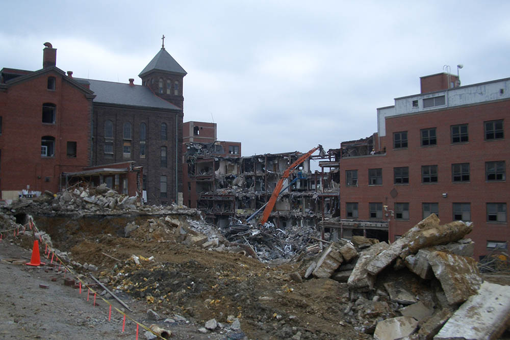 St. Joseph's Hospital Demolition