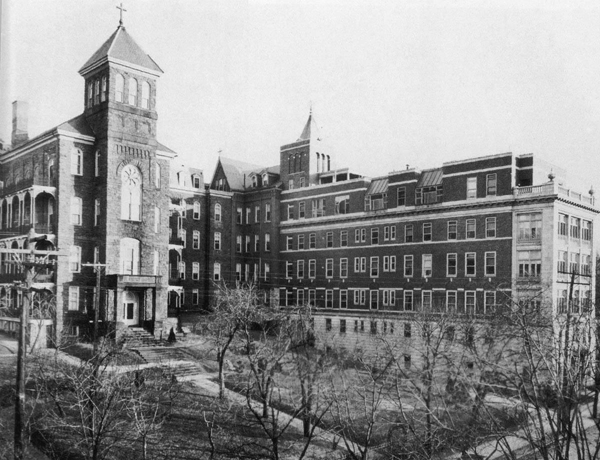 St. Joseph's Hospital, 1920s