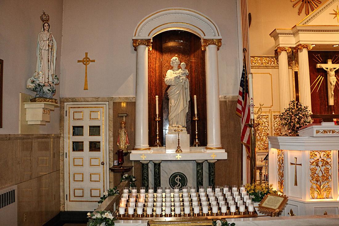 Saint Joseph Side Altar, 2015
