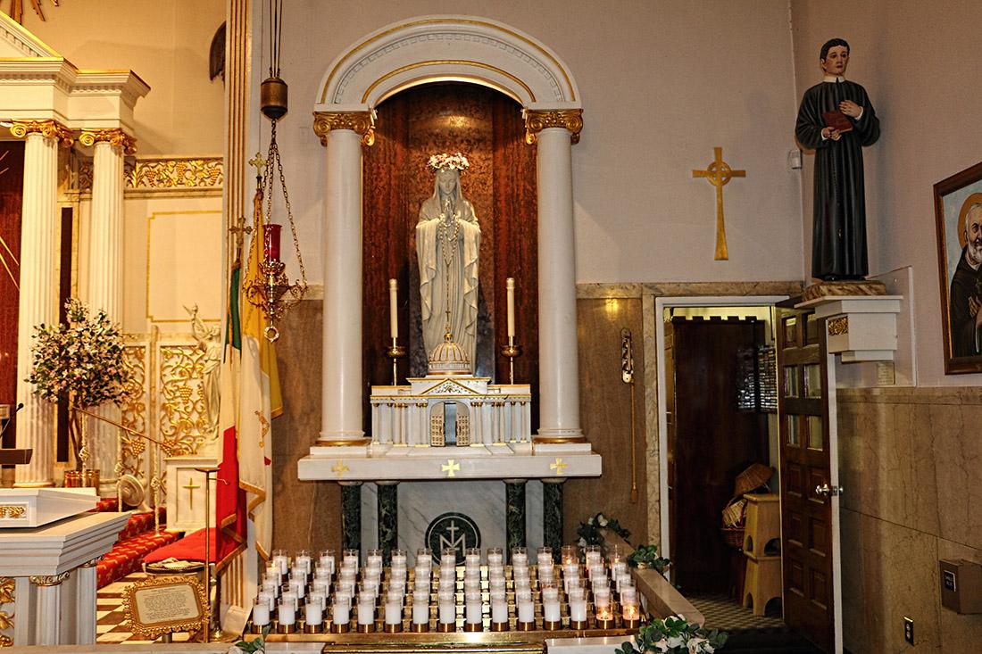 Saint Mary Side Altar, 2015