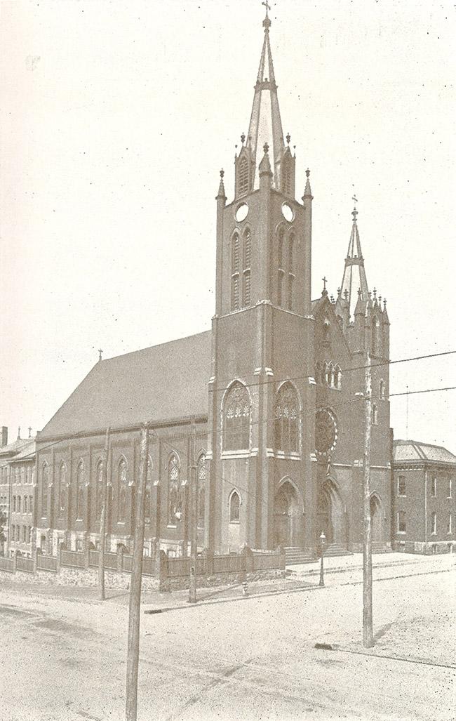 St. Mary's circa 1904