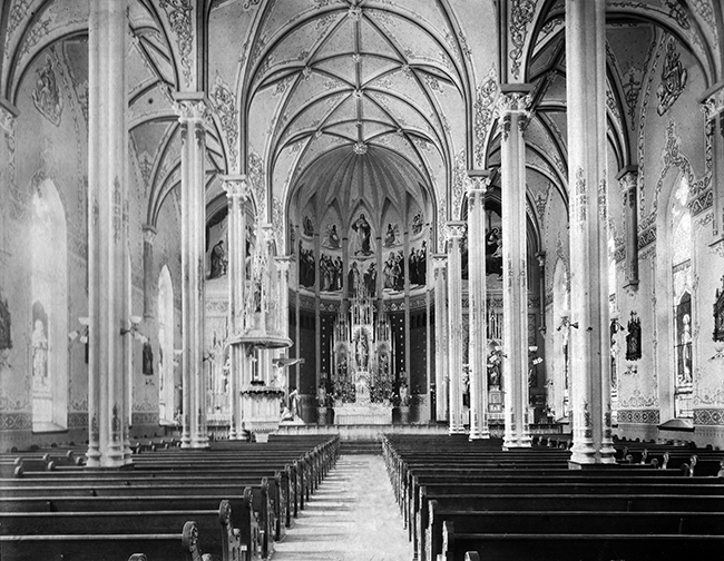 St. Mary's as it looked before 1938