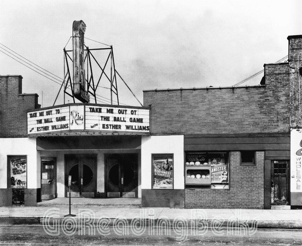 Rio Theatre, Schuylkill Avenue, Reading, 1949