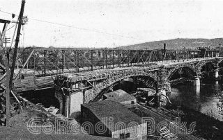 Penn Street Bridge Construction