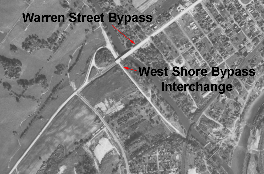 Warren Street Bypass/West Shore Bypass Interchange