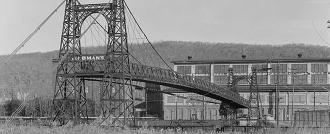 Philadelphia & Reading Railroad Swinging Bridge