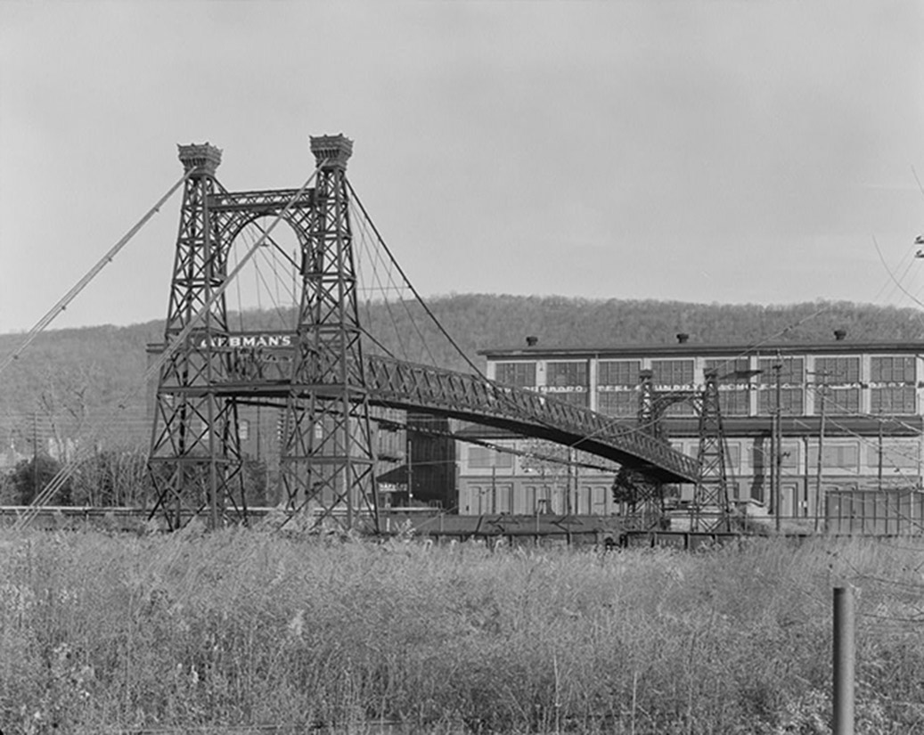 Philadelphia & Reading Railroad Swinging Bridge at Outer Station