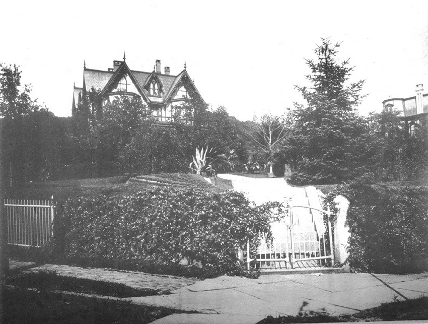 Hawthorne Mansion of George F. Baer