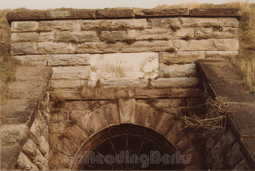 Entrance to Valve House