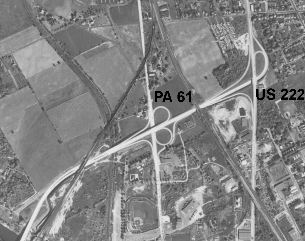 Warren Street Bypass extension to US 222